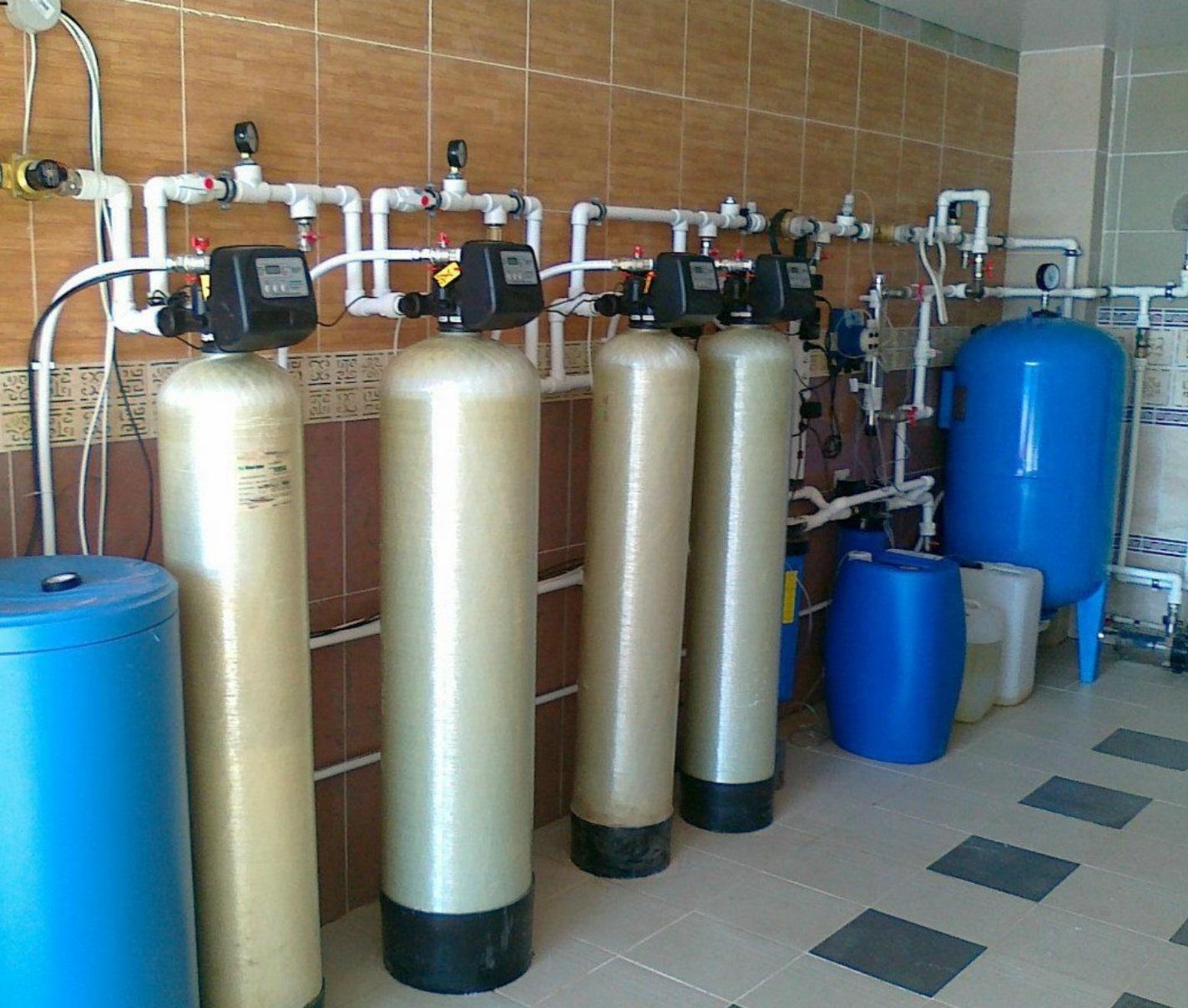 Осветлительные фильтры для очистки воды от глины