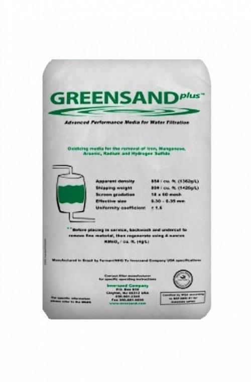 Фильтрующий материал Greensand+ (Гринсанд+)