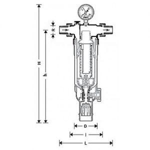 Фильтр механической очистки Honeywell F76S