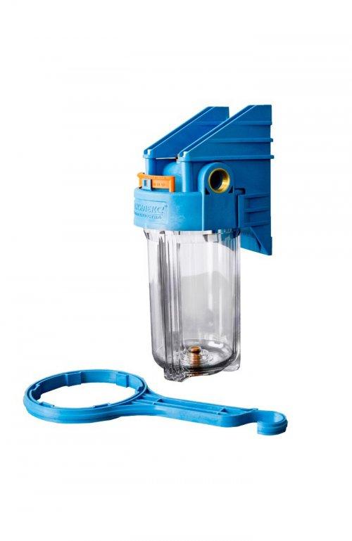 Корпус с картриджным фильтром BigBlue 10″ (прозрачный)