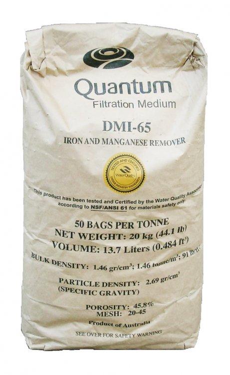 Среда для удаления железа и марганца Quantum DMI-65